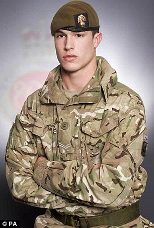 Inquest: Lance Corporal James Ashworth was killed by his own hand grenade when a sniper shot him as he was about to throw the device