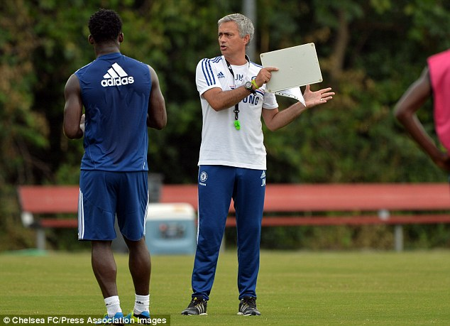 See you there? Jose Mourinho could make the trip to the stadium to watch his youngsters in action
