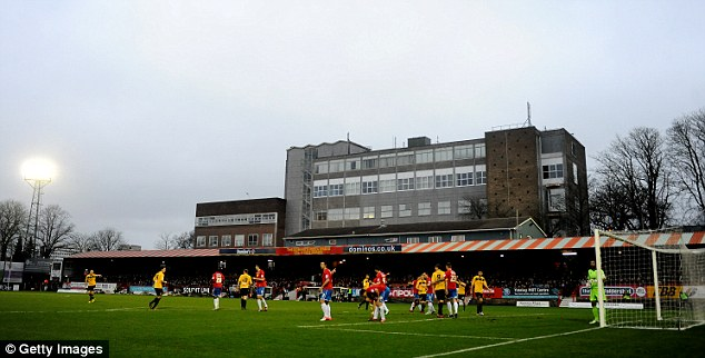 Suits you: Chelsea will be playing some of their youth-team games at the EBB Stadium