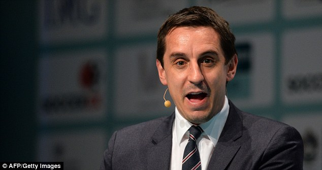 Leading the way: Gary Neville has revolutionised the punditry game