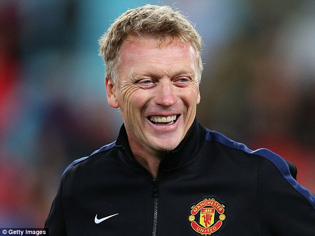 Decision maker: Bolt wants to get on the good side of new United boss Moyes