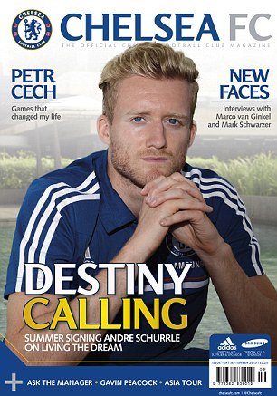 THE OFFICIAL CHELSEA MAGAZINE IS ON SALE FROM MONDAY (August 5)