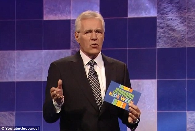 Cheap dig: Trebek noted that Hornback's answer was right and that 'it is spelled correctly also'