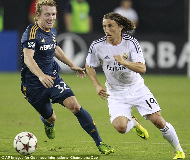 Former Spur: Villas-Boas said the two clubs have a good relationship after the transfer of Luka Modric