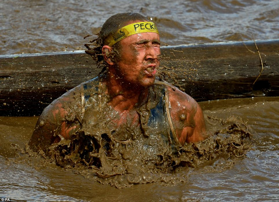 Splash: The challenge includes tests of strength, stamina, agility and mental determination