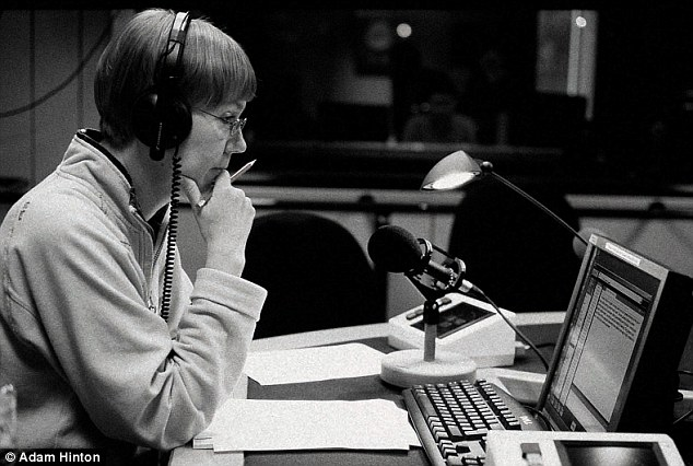 Pedigree: Green was a newsreader on BBC Radio 4 until January of this year