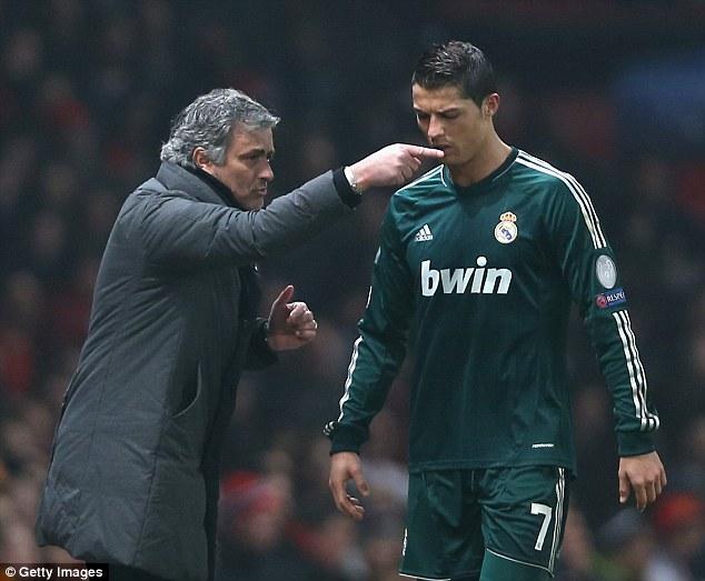 War of words: Jose Mourinho branded the Brazilian Ronaldo as the 'real' Ronaldo