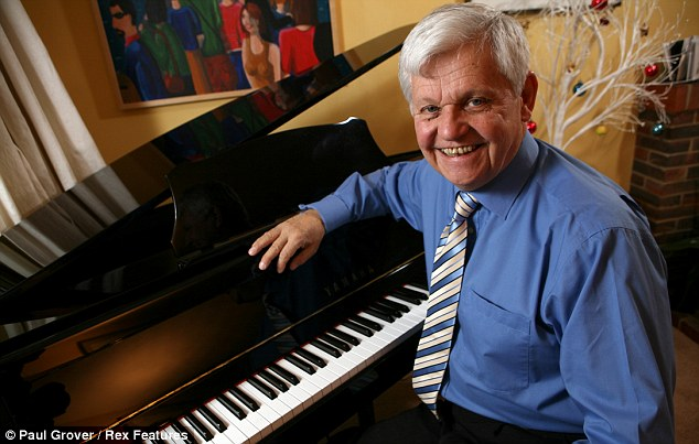 End of an era: James Alexander Gordon has retired after reading the scores for the last 40 years