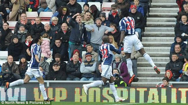 Shamed: Jones reacted to Romelu Lukaku scoring against Sunderland in the Premier League