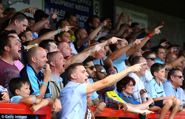 Questions to answer: Sky hit the Football League hard on Friday, asking chairman Greg Clarke the state of play at Coventry City, whose fans protested at the club's predicament during the defeat at Crawley Town