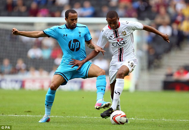 Fined: Tottenham's Andros Townsend has previously fallen foul of the betting regulations