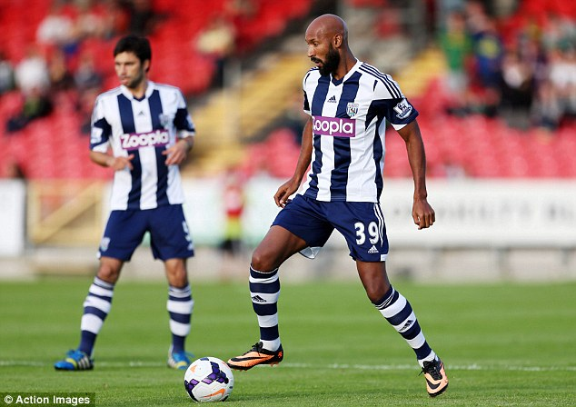 Hat trick hero: Anelka scored three for West Brom against Cork City