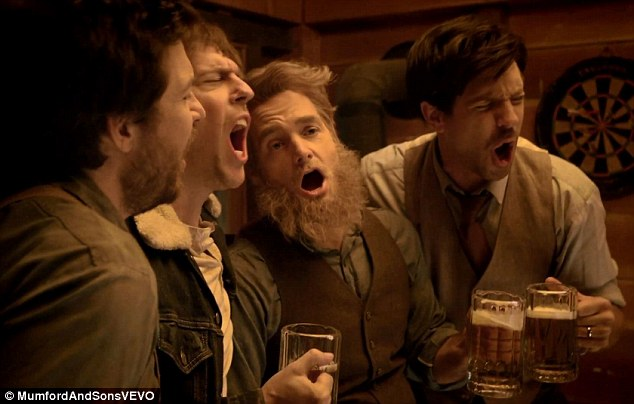 Pub-lic enemies: The comedians swill pints and get emotional, even shattering a glass in excitement