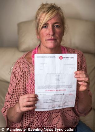 Fined: Darilyn Rothwell has been sent a demand to pay £405 over her son's absence from school eight years ago