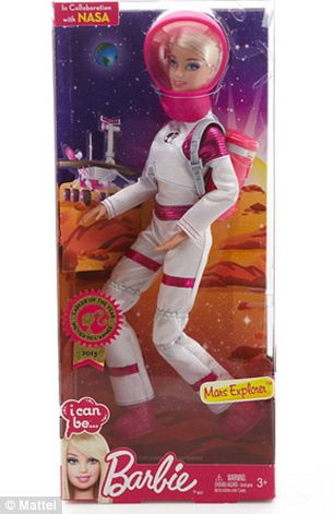 Adding to her resume of more than 130 careers, Mars Explorer Barbie doll inspires girls to be adventurous and to always reach for the stars!' added Mattel in a statement about the launc
