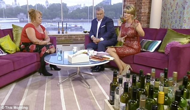 The 45-year-old from Chessington appeared on This Morning today to warn other women of the dangers