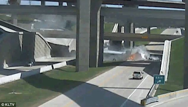 Explosion: The reason for the crash is still being investigated and so is the actual cause of death of the driver