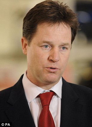Mr Clegg, like so many liberal commentators, doubtless believes stay-at-home mums aren¿t doing very much at all