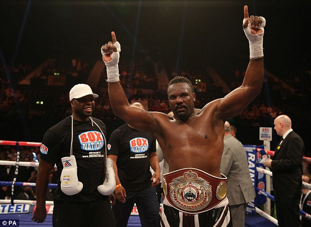 Result upheld: Dereck Chisora defeated Malik Scott by a sixth-round knockout