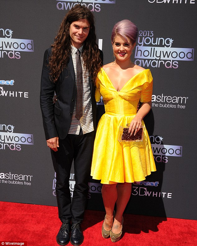 Love's young dream: Kelly, pictured at the 2013 Young Hollywood Awards last week, explained she and fiance Matthew Mosshart can't wait to have children together