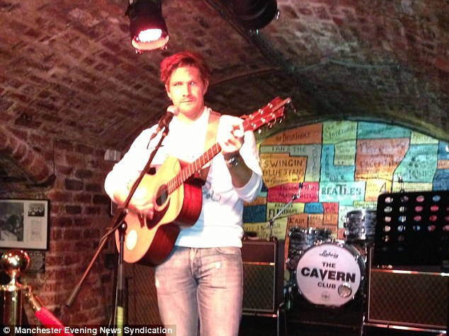 Fine tuning: Shane Watson delights the crowd at The Cavern Club in Liverpool