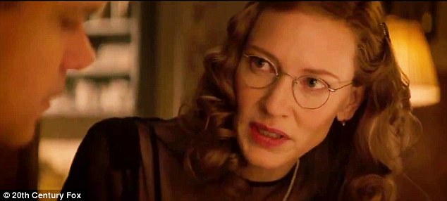 Book worm: Cate Blanchett plays Rose Valland, a member of the French resistance, who was the manager of an art gallery that the Nazis used to store their valuable loot