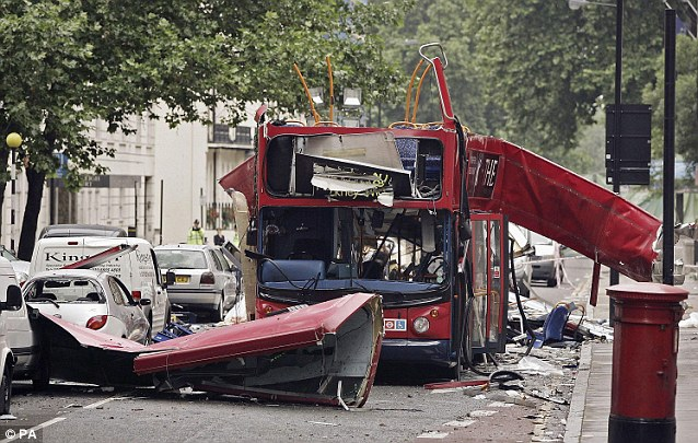 Bombs inside the body can have a similar effect to those packed with shrapnel or ball-bearings. Twelve of the British dead and wounded in the 7/7 London Tube bombings in 2005 had bone shrapnel injuries
