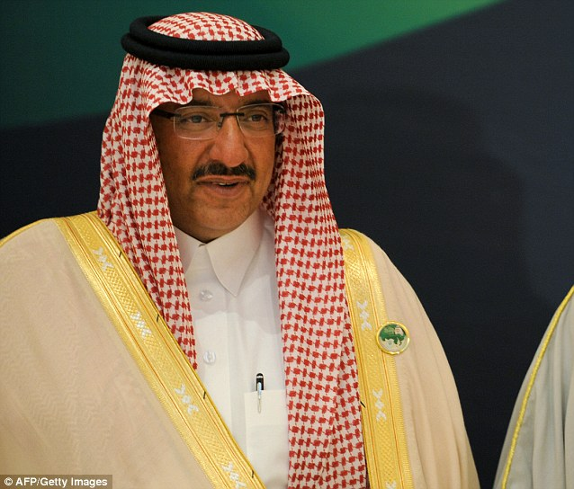 A bomber atempted to blow up Prince Mohammed bin Nayef (pictured left), Saudi Arabia's Interior Minister, in  August 2009 using explosives hidden in a mobile phone in his rectum were detonated by a phone call