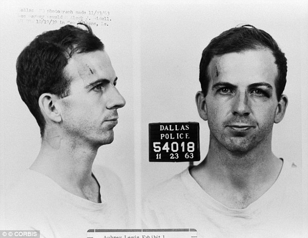 The lone gunman: Lee Harvey Oswald was the suspected assassin of President Kennedy, but never got a trial since he was shot himself while  en route to county jail