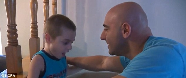 Jayden's father, Jason, said he considered suicide because he was so distraught over his son's rare condition