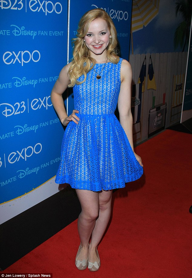 Seeing double: Liv & Maddie star Dove Cameron plays identical twins on the series
