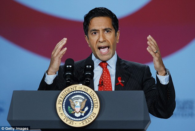 Flip-flop: Dr Sanjay Gupta now supports medical marijuana after opposing it for years