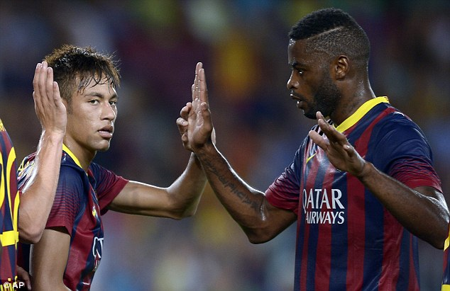 Lack of game time: Despite a defensive crisis, Bartra found himself below midfielder Alex Song in the pecking order