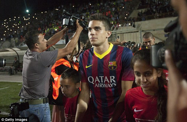 Target: Spurs are chasing Barca youngster Marc Bartra