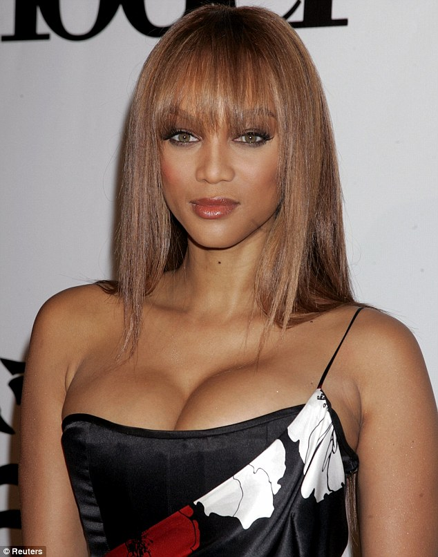 Women claim bra size 34DD, like Tyra Banks, is the perfect measurement