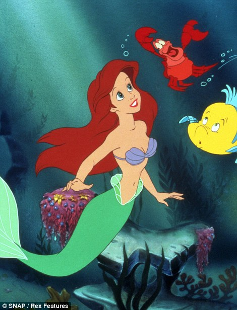 Ariel by Marchesa: Ariel is the title character of Walt Disney Pictures' 28th animated film, The Little Mermaid (1989)