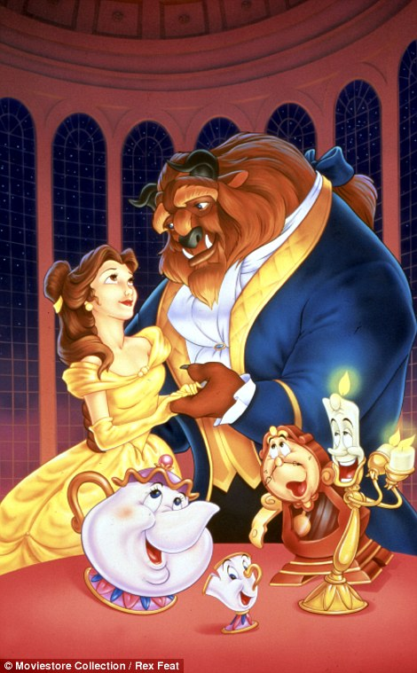 Belle: Based on the heroine of the fairy tale Beauty and the Beast by Jeanne-Marie Leprince de Beaumont, Belle was developed by Woolverton into a stronger character for the 1991 Disney film adaptation