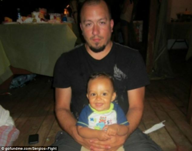 Fight: Branco, who has three children, was fired from his job after taking three months off to begin his treatment and had to file for a special type of insurance for employees made redundant