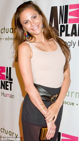 Dead: Gia Allemand, pictured in May, has died after being admitted to hospital on Monday