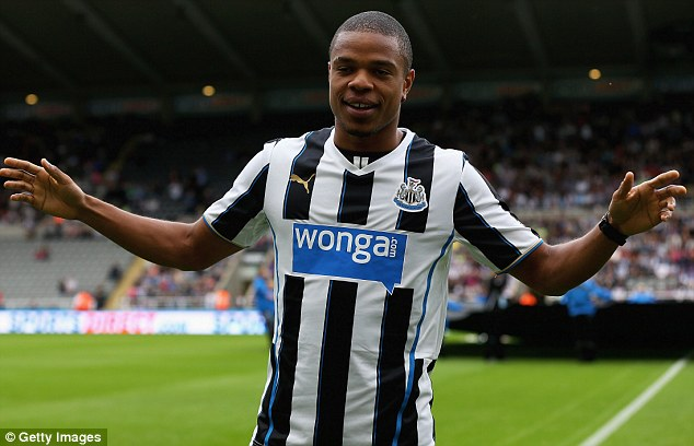 Powered up: Lee is putting his faith in Newcastle's new striker Loic Remy