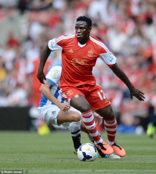 Main man: Victor Wanyama was Southampton's principal summer buy, joining from Celtic for £12m