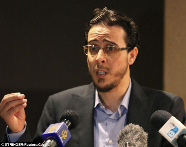 The face of terror? Three days after the Benghazi terror attack, Ansar al-Sharia spokesman Hani Mansouri denied his group was involved