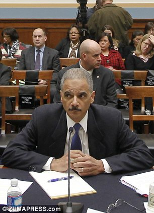 Attorney General ERIC HOLDER testifies before the House Judiciary Committee on Justice Department oversight about the botched Justice Department operation code named ''Fast and Furious'