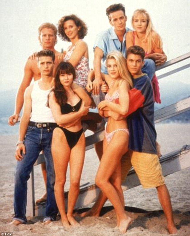 The originals: The classic cast of Beverly Hills, 90210 included Luke and Jason