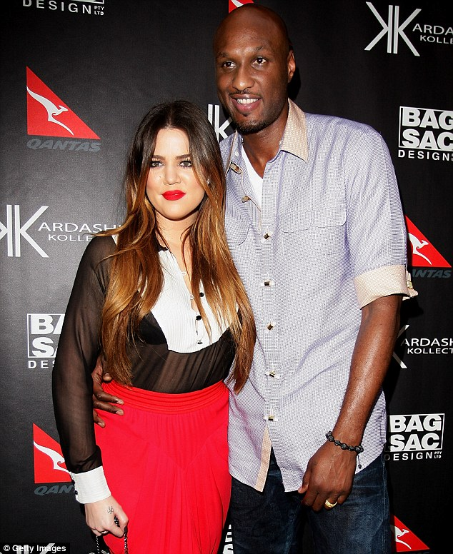 'Wifey is real': Lamar Odom posted a Twitter message about wife Khloe Kardashian in the wake of cheating allegations