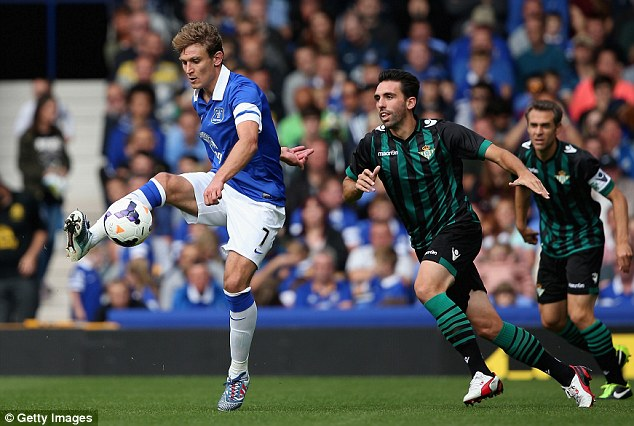 Improvements: Nikica Jelavic will want to have a better season than last year under the new manager