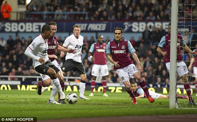 Not too shabby: Manchester United and West Ham share 36 fixtures in rotation