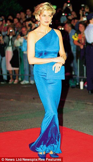Princess Diana arrives for the Victor Chang Charity ball at Sydney Entertainment Centre