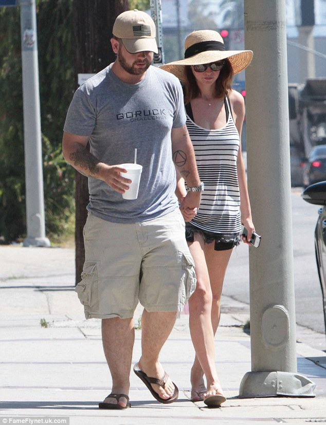 Daytime date: Jack and Lisa Osbourne took a break from parenting duties on Thursday as spent a low-key day together in Los Angeles
