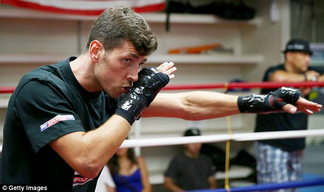 Talented: And Darren Barker believes the time is right for him to become a world champion